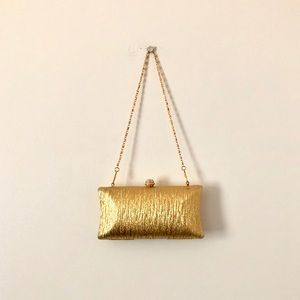 New Gold Clutch